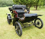 Oldsmobile Car. Picture of the Black 1904 Oldsmobile Stock Image