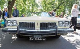 The oldsmobile car on show of collection Retrofest cars Stock Photography