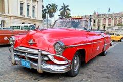 Oldsmobile classico a Avana. La Cuba, Immagine Stock Libera da Diritti
