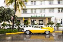 Oldsmobile classico con cromo Fotografia Stock