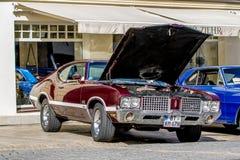 Oldsmobile 442 - convertibile sportivo classico degli anni 60 Immagini Stock