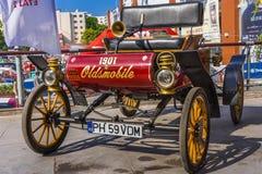 Oldsmobile curvou o traço Imagem de Stock Royalty Free
