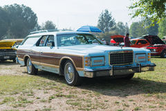 Oldsmobile Cutlass car on display. Woodland Hills, CA, USA - May 30, 2015: Oldsmobile Cutlass car on display during 12th Annual LAPD Car Show & Safety Fair Royalty Free Stock Photography