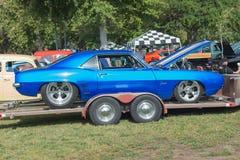 Oldsmobile Cutlass car on display Stock Photography