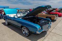 1972 Oldsmobile Cutlass Supreme. BROOKLYN, NEW YORK - JUNE 11 2017: A 1972 Oldsmobile Cutlass Supreme on display at the Antique Automobile Association of Stock Images