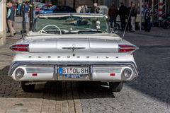 Oldsmobile dynamic - Classic sporty convertible of the 60s Royalty Free Stock Image