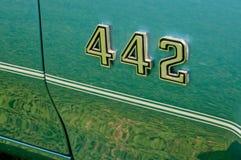 Oldsmobile 442 Embleem Royalty-vrije Stock Afbeeldingen