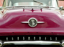 Oldsmobile Hood Royalty Free Stock Images
