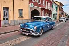 Oldsmobile 88 1953 in Mille Miglia 2017 Stock Photography