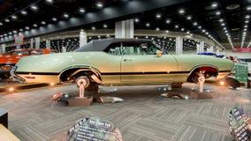 1970年Oldsmobile (Olds) 442恢复 免版税库存照片