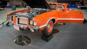 1972年Oldsmobile (Olds) Cutless 442解释 图库摄影
