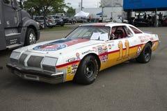 Oldsmobile-raceauto Royalty-vrije Stock Foto