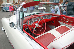 Oldsmobile starfire leather interior Royalty Free Stock Photo