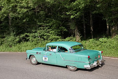 Oldsmobile Super 88 1954 in Mille Miglia 2016 Stock Foto
