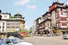 Oldstreet de Changhaï Chine au cours de la journée photos libres de droits
