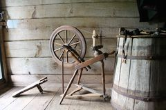 Oldstyle loom Stock Photography