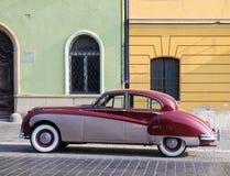 Oldtimer σε μια οδό της Βουδαπέστης, Ουγγαρία Στοκ Φωτογραφίες