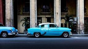 Oldtimer в Гаване Стоковые Изображения