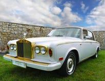 Oldtimer свадьбы автомобиля винтажный классический Стоковое Изображение