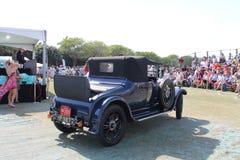 Oldtimer Alvis British classic car driven Royalty Free Stock Image