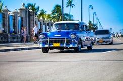 Oldtimer americano in Cuba 3 Immagine Stock