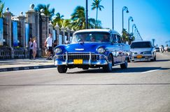 Oldtimer americano em Cuba 3 Imagem de Stock