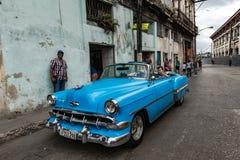 Oldtimer-Ausflug von altem Havana Stockbild