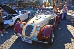 Oldtimer beim OldtimerCity 2011 in Frankfurt am Main Lizenzfreie Stockfotografie