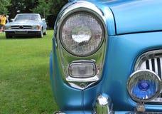 Oldtimer blue Stock Image