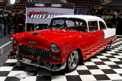 Oldtimer on car show stock photo
