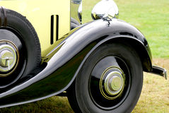 Oldtimer cars. Classic British cars in detail Stock Images