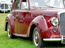 Oldtimer cars. Classic British cars in detail Royalty Free Stock Photography