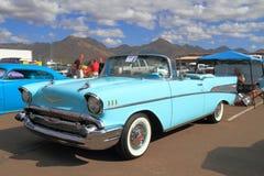 Oldtimer: Chevrolet 1957 Bel Air stockfotos