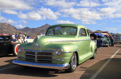 Oldtimer: Chrysler 1948 Plymouth delux Stockbild
