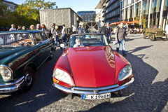 Oldtimer Citroen DS at the OldtimerCity 2011 in Frankfurt am Main Stock Images