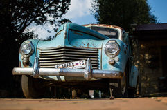 Oldtimer with Clarens License Plate in Clarens, Free State, Sout Royalty Free Stock Photography