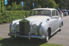 Oldtimer classique de Rolls Royce, Hollande Image stock
