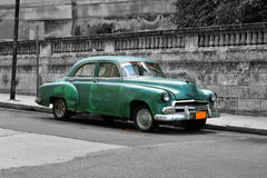 Oldtimer - Colour Key Royalty Free Stock Photos