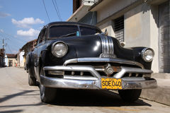 Oldtimer in Cuba Stock Images