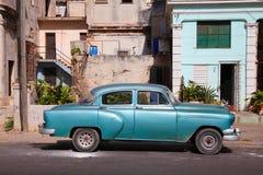 Oldtimer in Cuba Immagine Stock