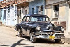 Oldtimer in Cuba Royalty Free Stock Image