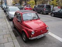 Oldtimer de Fiat 500 Imagen de archivo libre de regalías