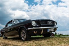 Oldtimer de Ford Mustang image stock