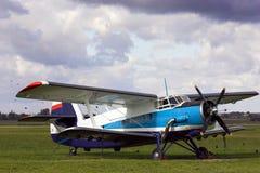 Oldtimer dell'aeroplano Fotografie Stock Libere da Diritti
