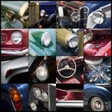 Oldtimer details Stock Images