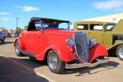 Oldtimer: 1934 Ford Roadster stock foto's