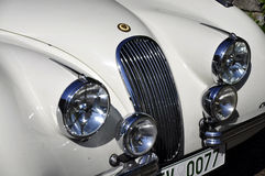 Oldtimer headlight Stock Photo