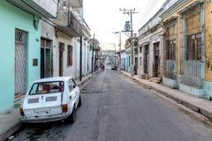Oldtimer i Matanzas Fotografering för Bildbyråer
