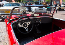 Oldtimer interior Stock Images