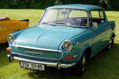 Oldtimer Škoda 1000 MB royalty-vrije stock afbeeldingen
